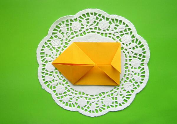 Оригами такса пошагово - шаг 8