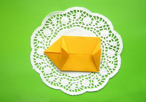Оригами такса пошагово - шаг 9