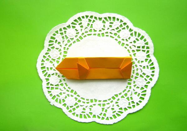 Оригами такса пошагово - шаг 10