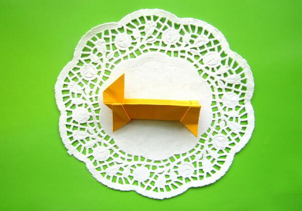 Оригами такса пошагово - шаг 12