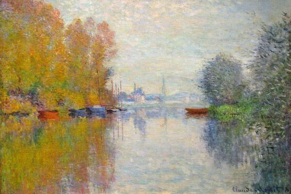 Осень в живописи художников-импрессионистов - Клод Моне - Осень в Аржантее