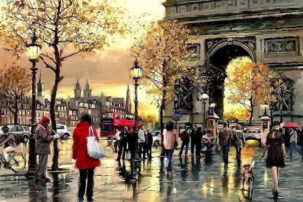 Осень в живописи Ричарда Макнейла