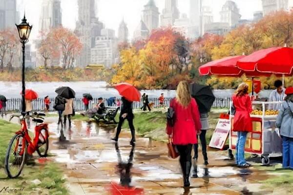 Осень в живописи художников - Ричард Макнейл