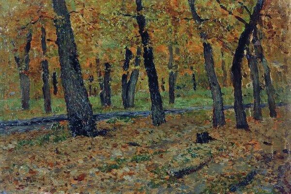 Осенние пейзажи в живописи Левитана