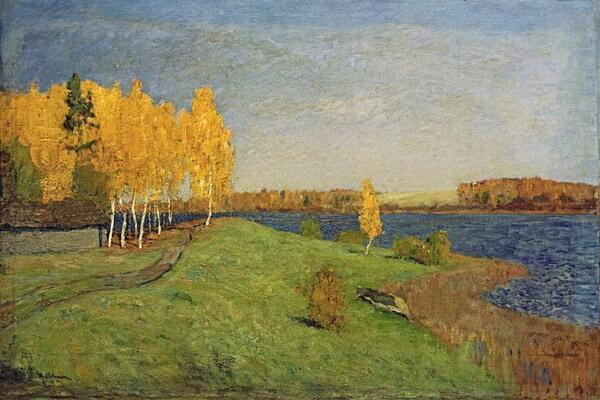Осенние пейзажи в русской живописи - Осень на картинах Левитана