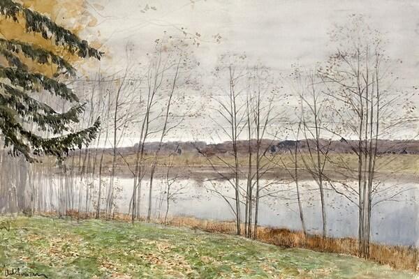 Осенние пейзажи в творчестве Левитана