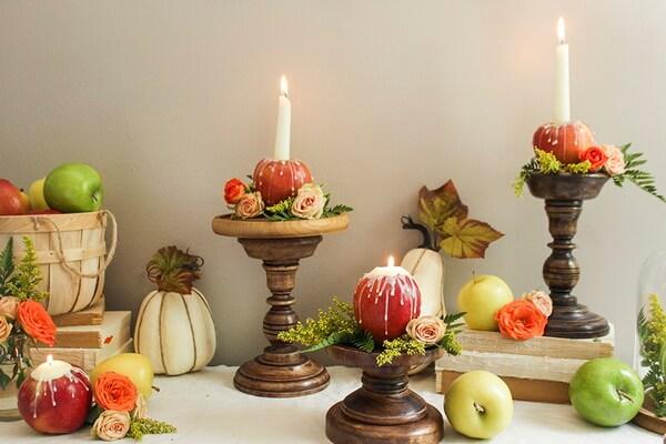 Осенние подсвечники своими руками из тыквы - интересные идеи и фото