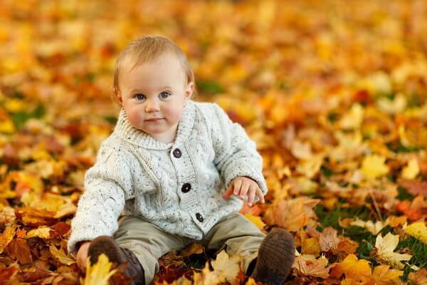 Идеи для детской фотосессии в осеннем лесу