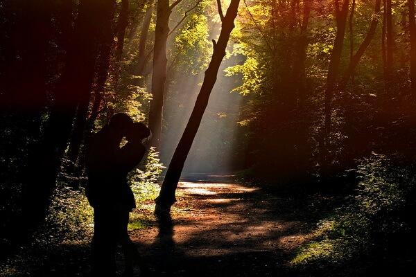 Осенняя фотосессия в лесу - Идеи для влюблённых