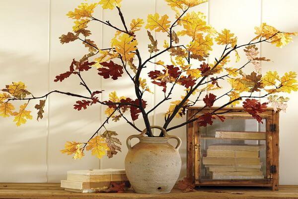 Осенняя икебана своими руками - интересные идеи оформления