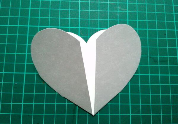 Объёмная валентинка-сердце своими руками - шаг 3