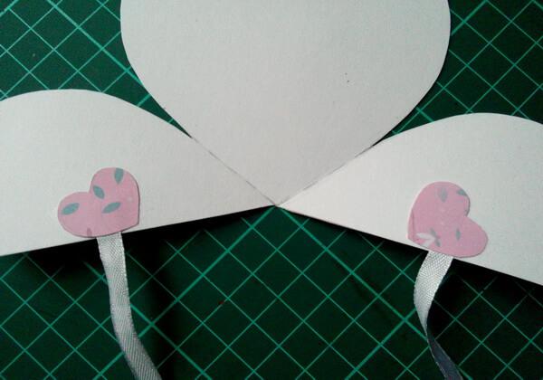 Объёмная валентинка-сердце своими руками - шаг 8