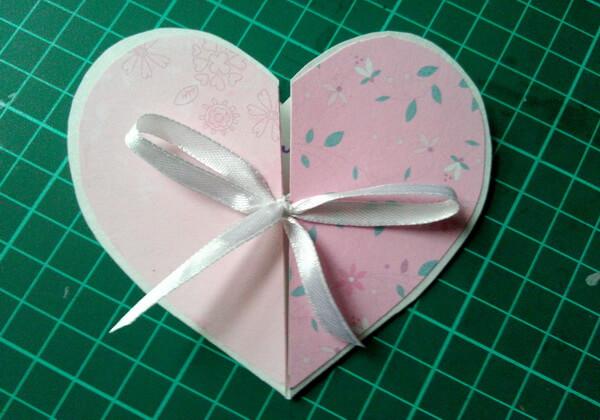 Объёмная валентинка-сердце своими руками - шаг 10