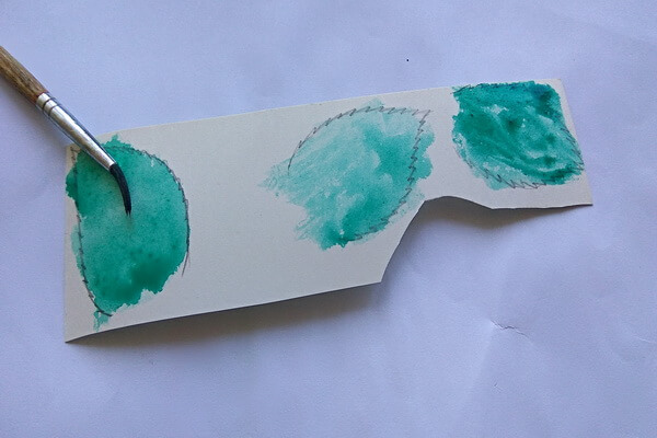 Красивая открытка с цветами в технике скрапбукинг поэтапно - шаг 3
