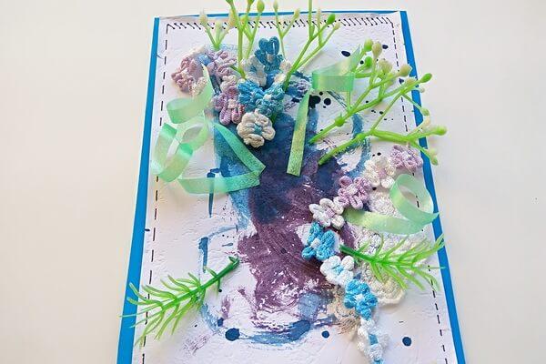 Красивая открытка с цветами в технике скрапбукинг поэтапно - шаг 12