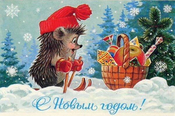 Новогодние иллюстрации Владимира Зарубина