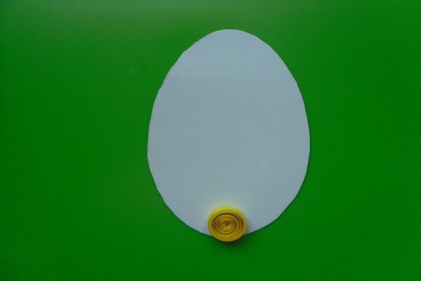 Пасхальное яйцо в технике квиллинг - пошаговый мастер-класс - шаг 4