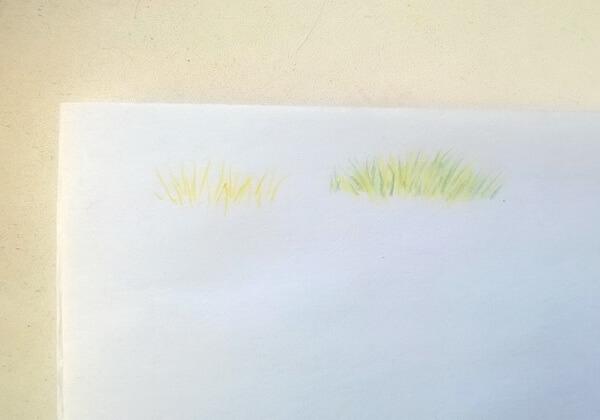 Пейзаж цветными карандашами поэтапно - шаг 7