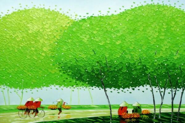 Вьетнам на картинах Фэн Тчу Транг