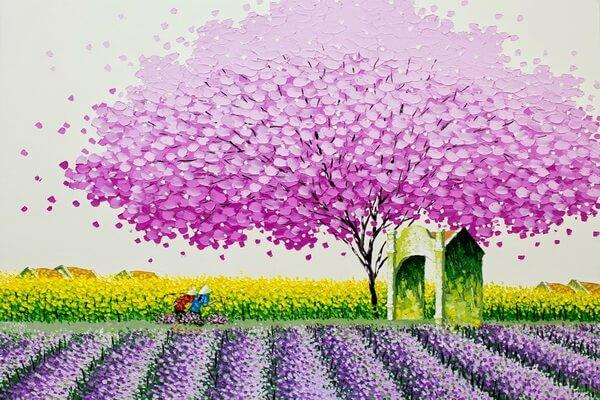 Вьетнам в живописи Фэн Тчу Транг