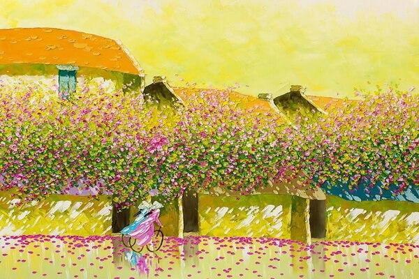 Пейзажи Вьетнама художницы Фэн Тчу Транг