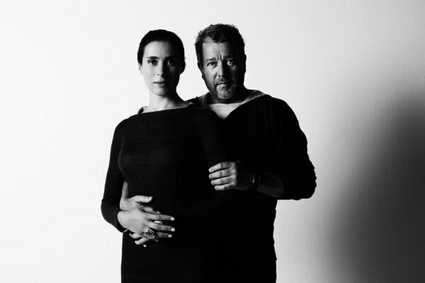 Дизайнер Филипп Старк с женой