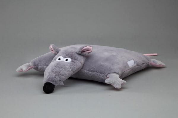 Подарки на Новый год крысы своими руками для друзей - Оригинальные подушки в виде крысы