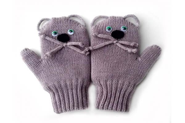 Подарки на Новый год крысы своими руками для любимого человека - Вязаные вещи с символом года - мышкой