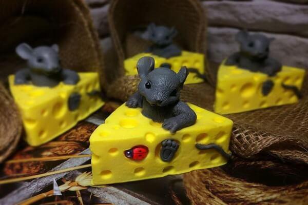 Подарки на Новый год крысы своими руками - Оригинальное мыло с символом года