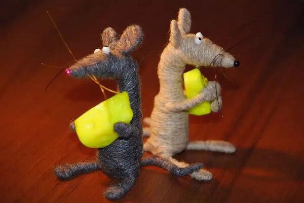 Подарки на Новый год крысы своими руками - Оригинальные мягкие игрушки
