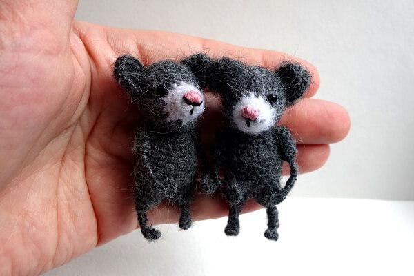 Подарки на Новый год крысы своими руками - Мягкие игрушки