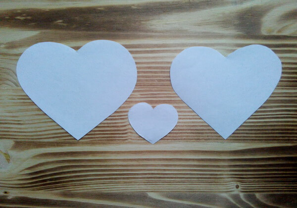 Коробочка сердце из фетра пошагово - шаг 1