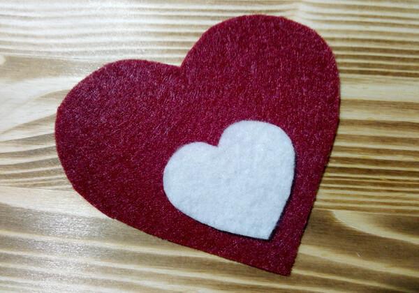 Коробочка сердце из фетра пошагово - шаг 8