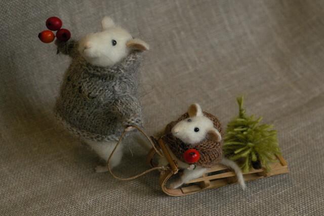 Поделки на ёлку на год крысы - интересные идеи с фото для вдохновения