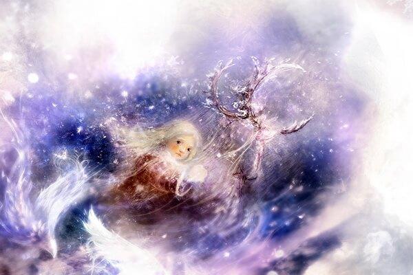 Иллюстрации Полины Яковлевой к сказке «Снежная королева»