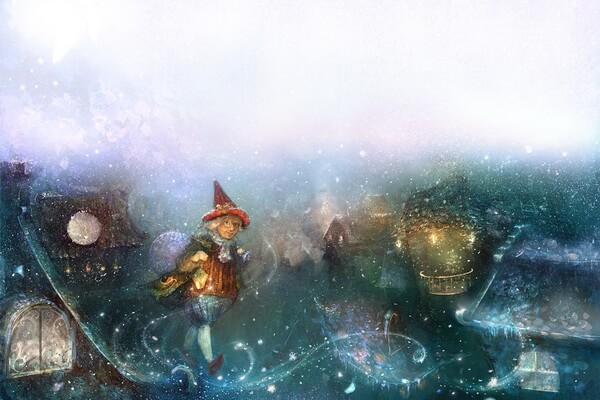 Иллюстрации Полины Яковлевой к сказкам