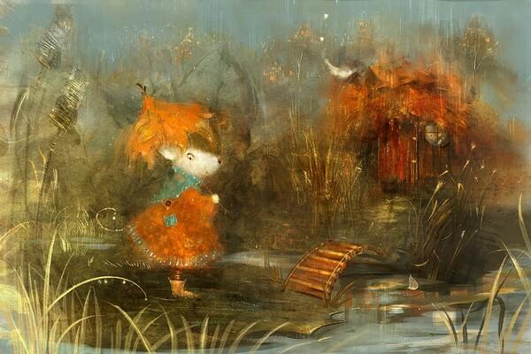 Осеннее вдохновение Полины Яковлевой