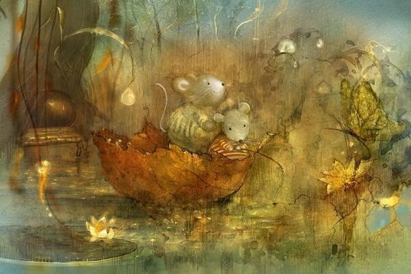 Осенние краски на иллюстрациях Полины Яковлевой