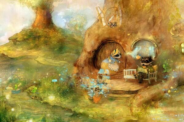 Полина Яковлева и её сказочные миры на иллюстрациях к волшебным сказкам