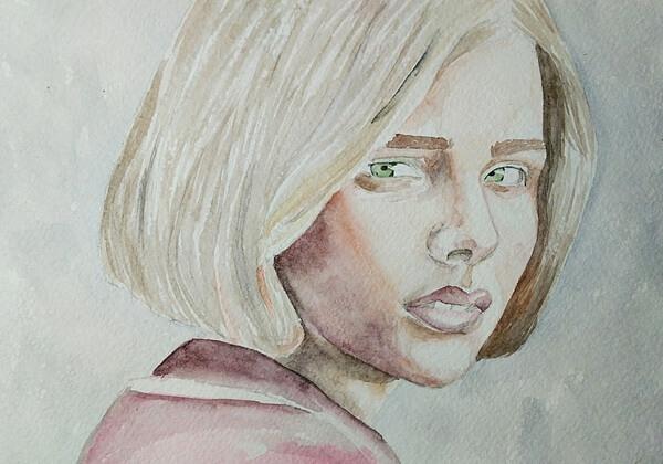 Как нарисовать портрет акварелью - пошаговый урок рисования с советами для начинающих