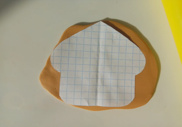 Пряничный домик из полимерной глины пошагово - шаг 1