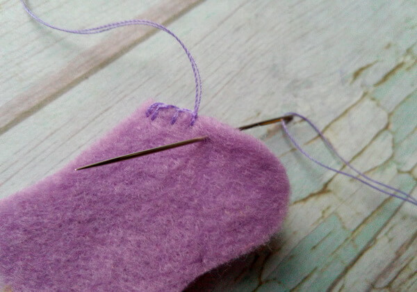 Резинки из фетра своими руками пошагово - шаг 3