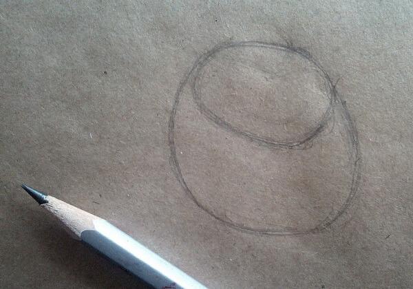 Рисунок Гаечки из «Чип и Дейл» пошагово - шаг 1