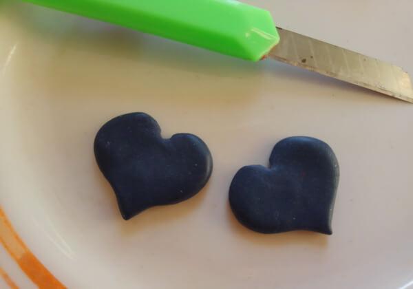 Серьги из полимерной глины своими руками пошагово - шаг 4