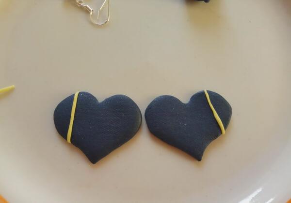 Серьги из полимерной глины своими руками пошагово - шаг 7
