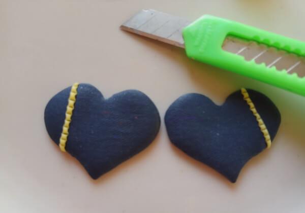 Серьги из полимерной глины своими руками пошагово - шаг 8