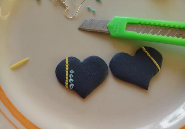 Серьги из полимерной глины своими руками пошагово - шаг 9