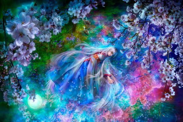 Волшебные иллюстрации Шу Мизогучи