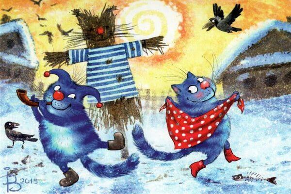 Иллюстрации Ирины Зенюк с котиками