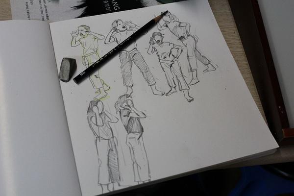Выбор скетчбука для рисования